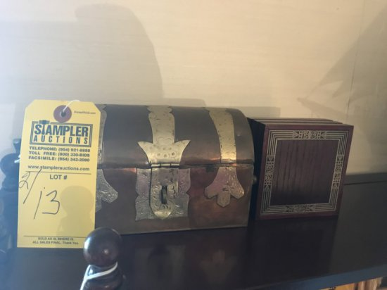 BOXES - METAL BLOOMINGDALES / WOOD CARRICK