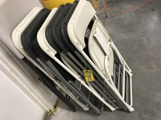 ASSORTED FOLDING CHAIRS