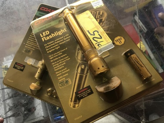 ASSORTED LED FLASHLIGHTS (NEW IN BOX)