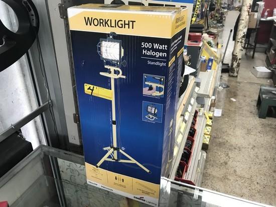 500W WORK LIGHT (NEW IN BOX)