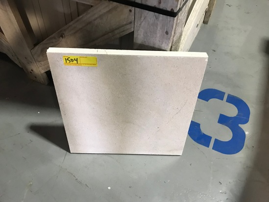 SQ.FT. - HONED CROSS CUT MARBLE - 16'' x 16'' x 1''  - 74 PIECES / 131.72 SQ.FT. (CRATE #67)