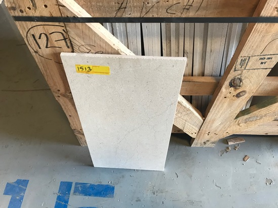 SQ.FT. - HONED VEIN CUT MARBLE - 12'' x 24'' x 7/16'' - 162 PIECES / 324 SQ.FT. (CRATE #128)