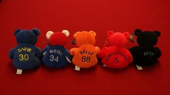 MLB SALVINOS BAMMERS - MARK KOTSAY 7 / NOMAR GARCIAPARRA 5 / CHILI DAVIS 30 / KERRY WOOD 34 / JOEY B