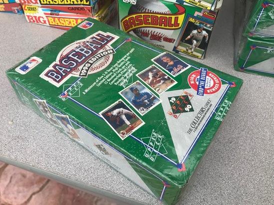 1990 UPPER DECK BASEBALL WAX BOX