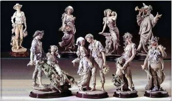 GIUSEPPE ARMANI COLLECTIBLE - MOTHER'S HAND (SIENA COLLECTION) - #1008-T - 707/2500