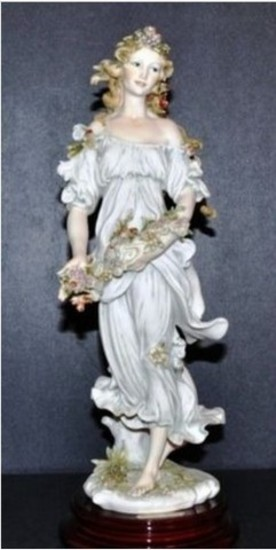GIUSEPPE ARMANI COLLECTIBLE - FLORA (1994 MEMBERS ONLY SCULPTURE)