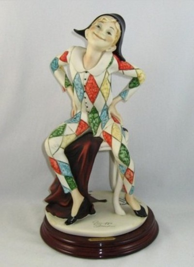 GIUSEPPE ARMANI COLLECTIBLE - HARLEQUIN - #0490-C