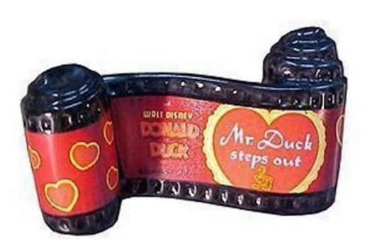 WALT DISNEY COLLECTIBLE - OPENING TITLE (MR. DUCK STEPS OUT)
