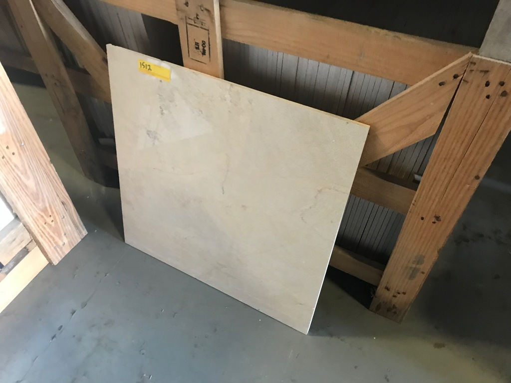SQ.FT. - POLISHED CROSS CUT MARBLE - 24'' x 24'' x 7/16'' - 90 PIECES / 360 SQ.FT. (CRATE #126)