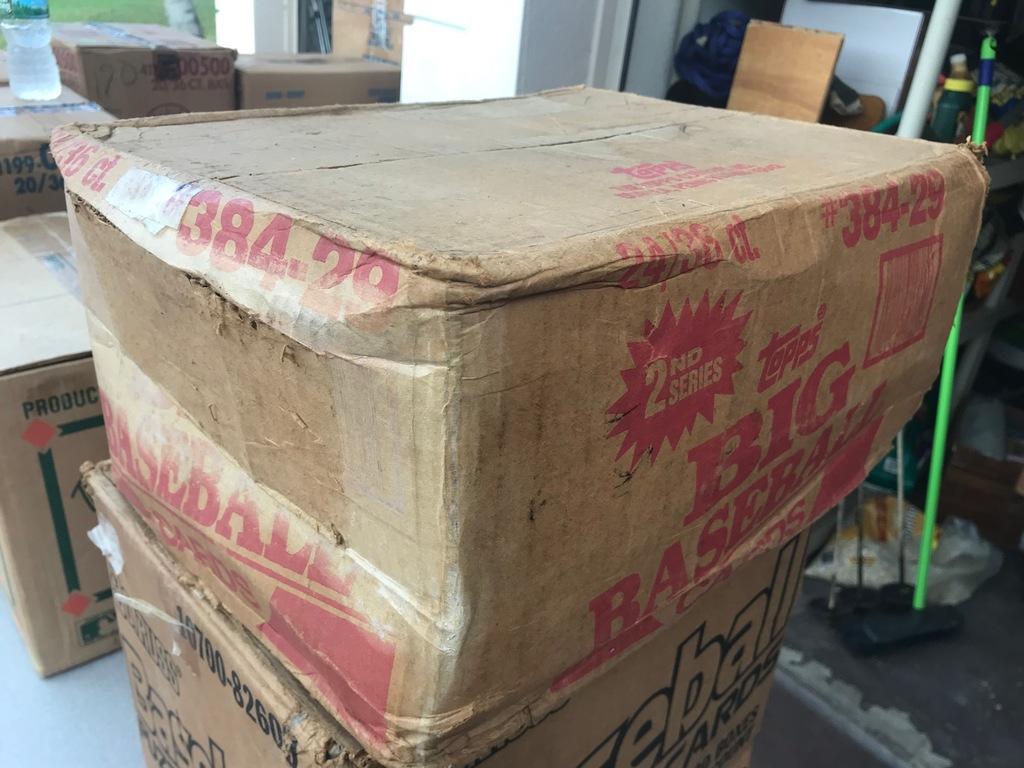 1989 TOPPS BASEBALL ''BIG BASEBALL'' WAX CASE - 24 BOXES (36 CT / BOX) - SEALED