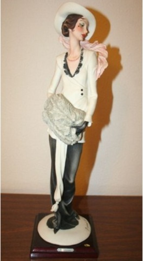 GIUSEPPE ARMANI COLLECTIBLE - LADY WITH MUFF (MY FAIR LADY COLLECTION) - #0388-C - 4321/5000