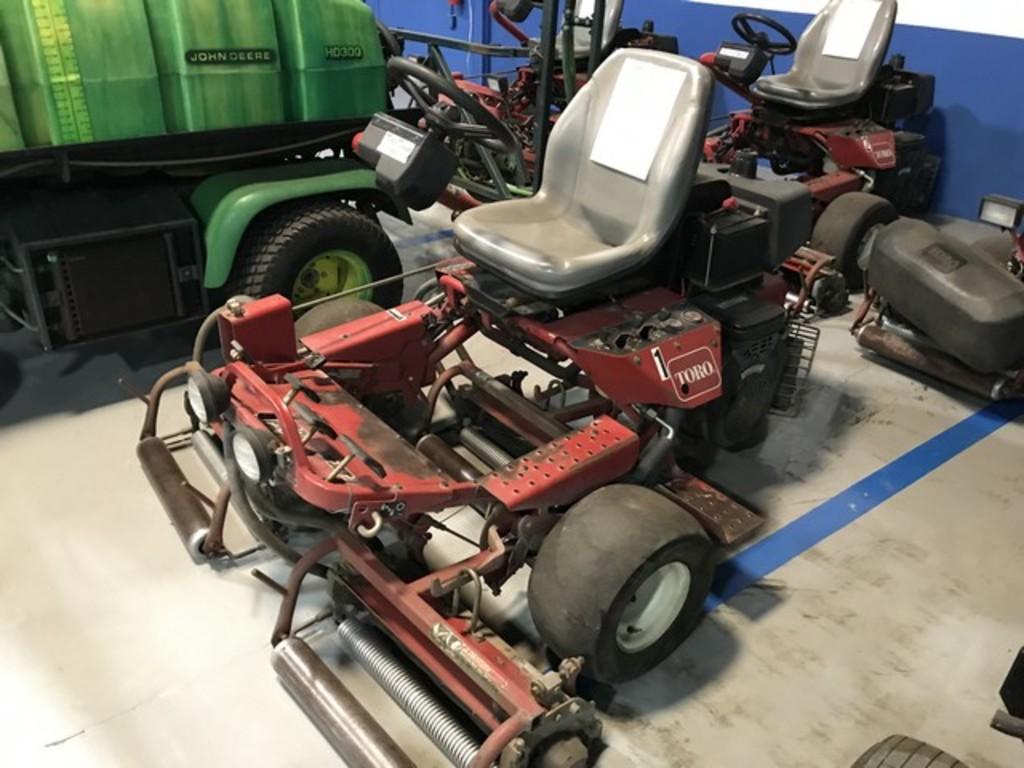 TORO GREENSMASTER 3100 MOWER WITH VANGUARD 18HP ENGINE - SERIAL No. 04356-25000497 - 4702.5 HOURS