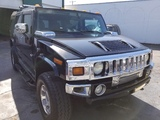 2003 HUMMER H2 - 5GRGN23UX3H146100 - BLACK - MILES 184,000+