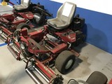 TORO GREENSMASTER 3100 MOWER WITH VANGUARD 18HP ENGINE - SERIAL No. 04356-25000418 - 4928.1 HOURS