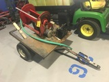 BATTERY POWER HOSE REEL TRAILER