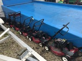 ASSORTED PUSH MOWERS