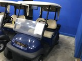 2016 CLUB CAR PRECEDENT GOLF CART WITH CHARGER - BLUE - 48V (6 MATCHING 8V BATTERIES) (CART #5)