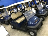 2016 CLUB CAR PRECEDENT GOLF CART WITH CHARGER - BLUE - 48V (6 MATCHING 8V BATTERIES) (CART #53)