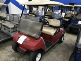 CLUB CAR GAS GOLF CART - RED
