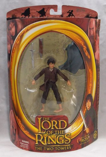 Elven Cloaked Frodo Boxed Lord of the Rings Action Figure Toy