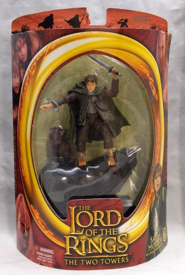 Sam In Mordor Boxed Lord of the Rings Action Figure Toy