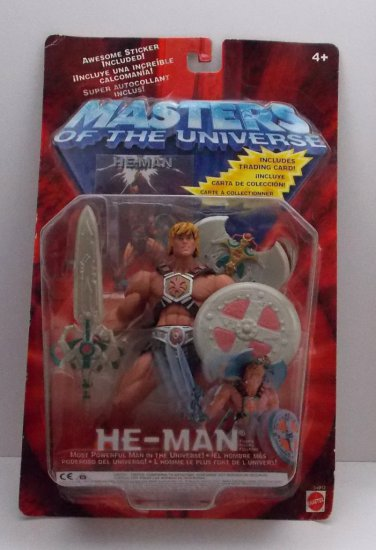 He Man Masters of the Universe 200x Figure w/ Limited Edition Trading Card