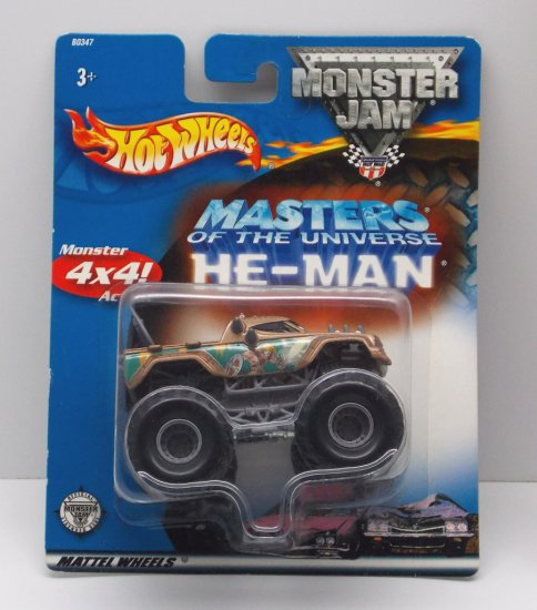 He Man Monster Jam Matchbox Masters of the Universe 200x Vehicle