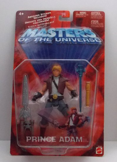 Prince Adam Masters of the Universe 200x Figure