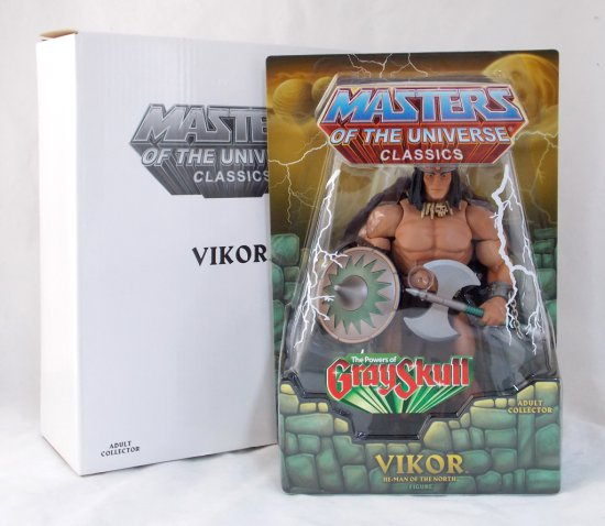 Vikor Masters of the Universe Classics He Man Action Figure