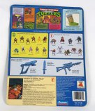 General Traag Vintage Teenage Mutant Ninja Turtles Cardback