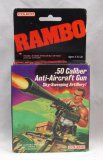 Vintage 1985 Coleco Rambo .50 Caliber Anti Aircraft Gun Action Figure Weapons Pack