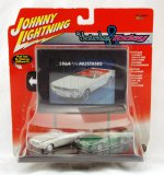 Johnny Lightning Yesterday And Today Mustang Diecast Car Set