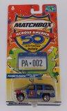 Matchbox Across America Pennsylvania 50th Anniversary Die Cast Vehicle