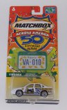 Matchbox Across America Virginia 50th Anniversary Die Cast Vehicle