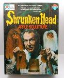 1975 Milton Bradley Shrunken Head Apple Sculpture Kit