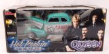 Queen Hot Rockin' Steel 1939 Chevy Coupe 1/24 Scale Diecast Car