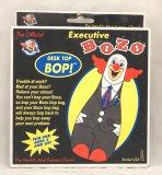 Executive Bozo the Clown Inflatable Desk Top Bop Bag