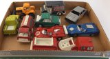 Assorted Lot of Vintage Tootsie Toys Vehicles