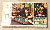 Vintage Milton Bradley Pivot Pool Tabletop Game