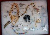 Necklaces,Earring, Bracelet, & Brooch Lot
