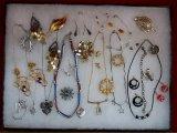 Necklace,Earring, Bracelet, & Brooch Lot