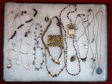 Necklace,Earring, & Brooch Lot