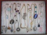 Necklace, Earring, Brooch Lot