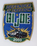 JoeCon 2003 Iron-On Embrodered Patch GI Joe Convention Souvenir
