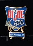 JoeCon 2005 Cloisonne Enameled GI Joe Convention Pin