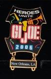 JoeCon 2006 Cloisonne Enameled GI Joe Convention Pin