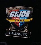 JoeCon 2008 Cloisonne Enameled GI Joe Convention Pin