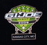 JoeCon 2009 Cloisonne Enameled GI Joe Convention Pin