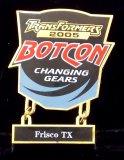 Botcon 2005 Cloisonne Enameled Transformers Pin