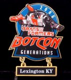 Botcon 2006 Cloisonne Enameled Transformers Pin